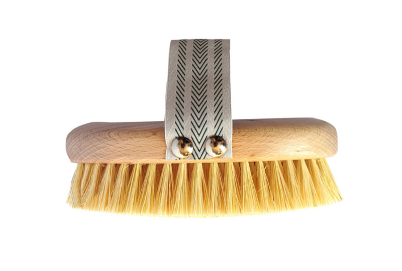 cellulite 10 regole spazzola dry brushing