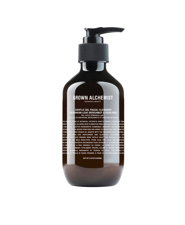 Gentle gel facial cleanser grown-alchemist