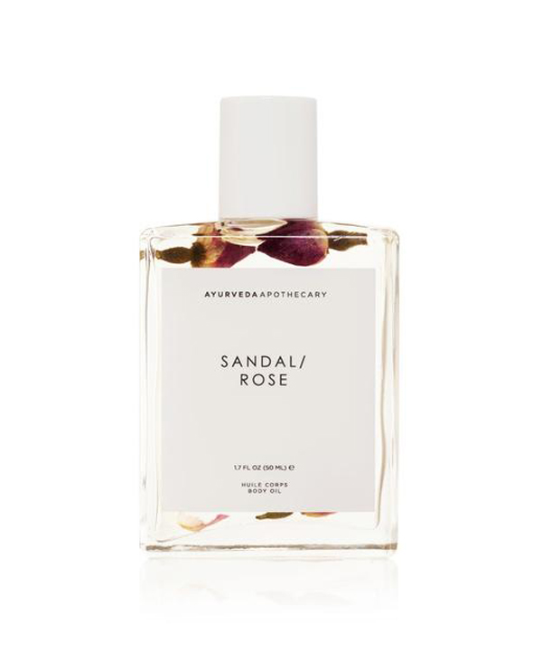 Sandal Rose bath and body oil