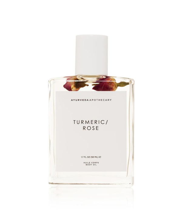 Turmeric Rose Bath and Body Oil yoke