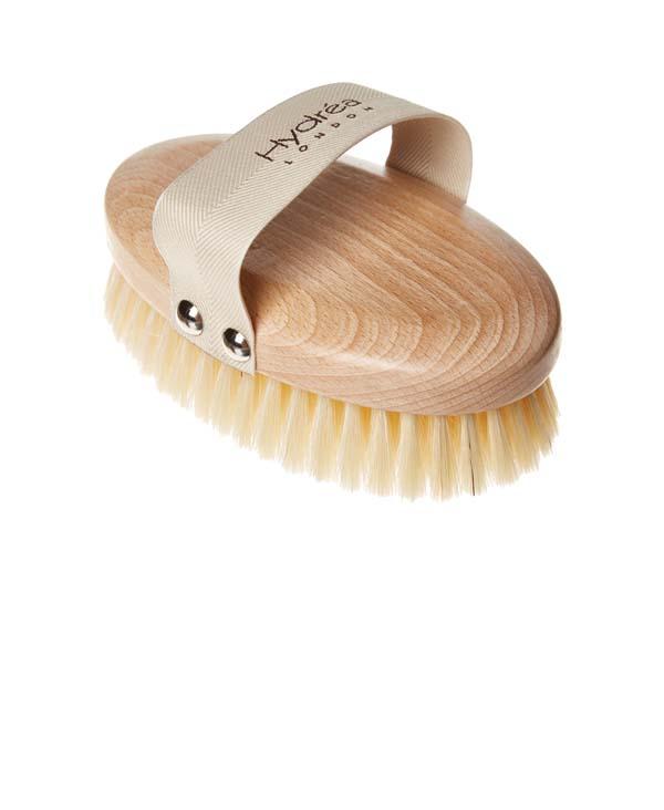 spazzola dry brushing side
