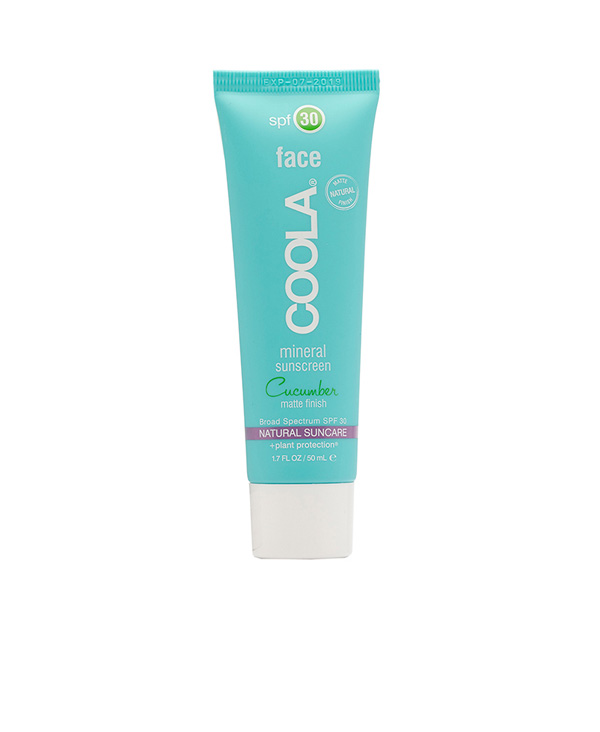 Coola Face Mineral Sunscreen spf30 Cucumber