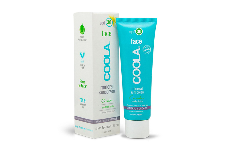 best organic face sunscreens coola cocumber