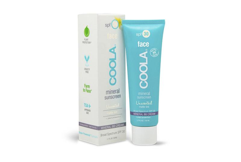organic face sunscreen COOLA MATTE TINT