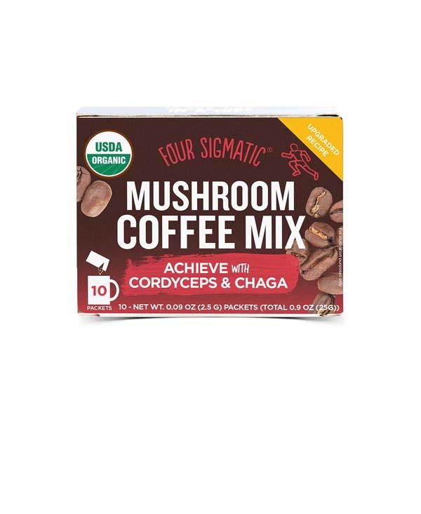 caffè ai funghi medicinali cordyceps fronte