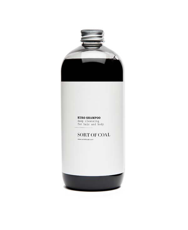 shampoo al carbone attivo kuro main