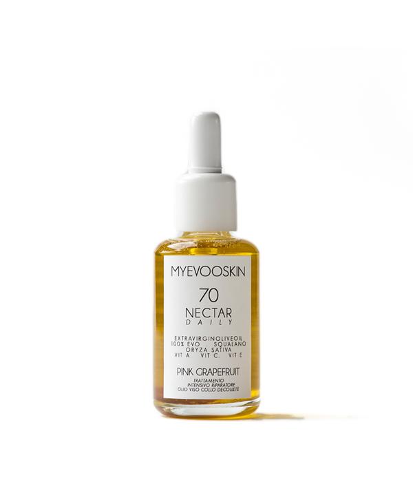 olio per il viso nectar fronte