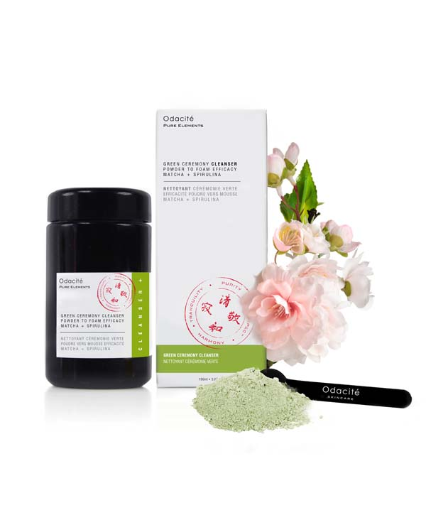Detergente viso in polvere Green ceremony pack