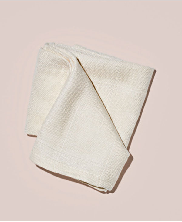 salviettine detergenti in cotone