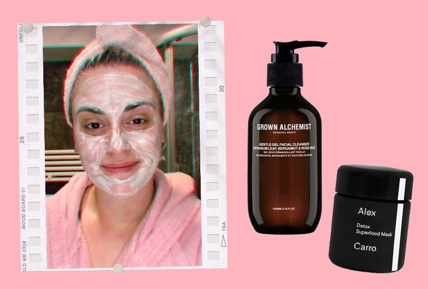 Skincare routine mattutina by Mara de Marco