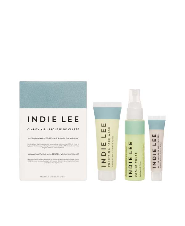 Clarity Kit - Rituale purificante Indie Lee in formato mini