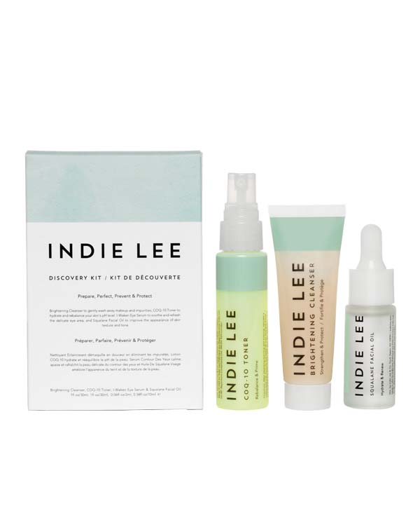 Discovery Kit - Rituale skincare Indie Lee in formato mini