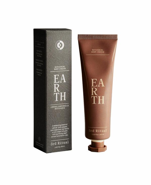 Earth - TERRA Crema aromatica nutriente per corpo, mani e piedi