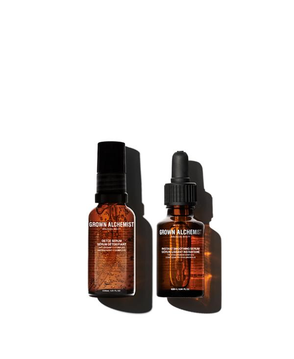 Power Couple Kit - Siero idratante e siero antiossidante
