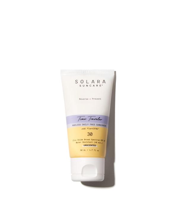 Time Traveler - Crema solare viso antiageing Spf30