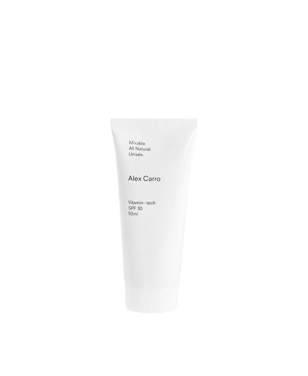 Vitamin-tech Spf30 - Crema solare viso
